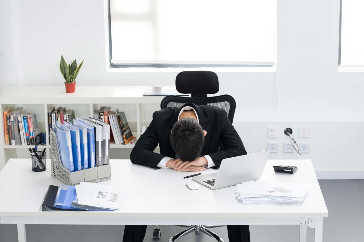 業務助理壓力來源